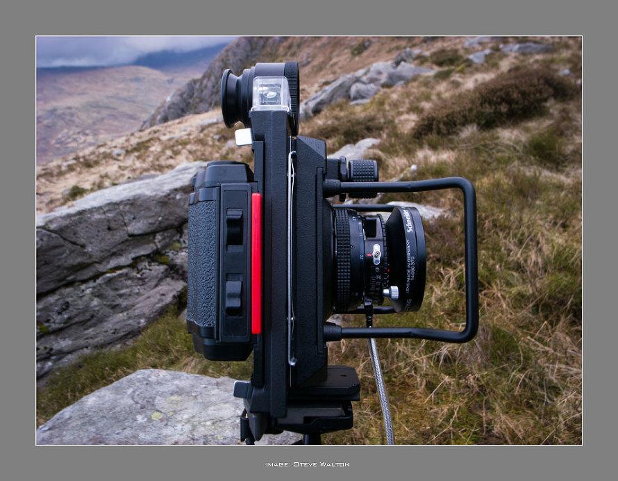 Widepan 6x12cm Roll Film Holder