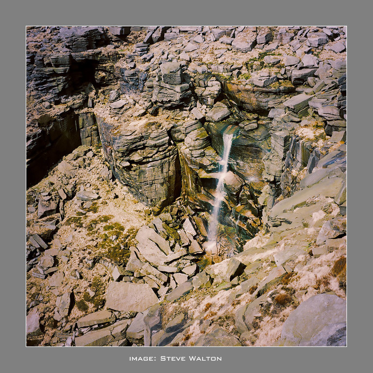 Kinder Downfall taken with an Agfa Isolette iii