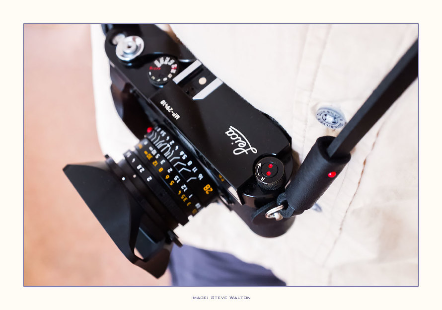 Leica MP with 28mm f2 summicron-M asph and Deadcameras slim strap