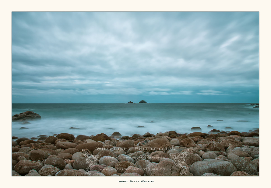 Porth Nanven boulders and The Brisons, Cornwall