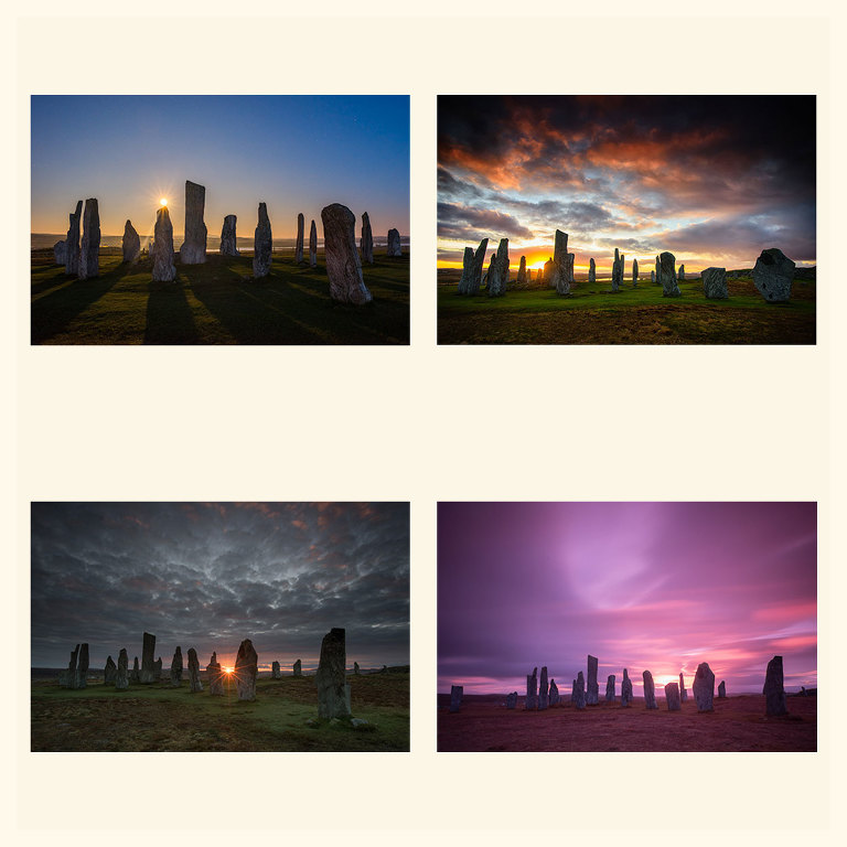 Callanish Standing Stones, Isle of Lewis.