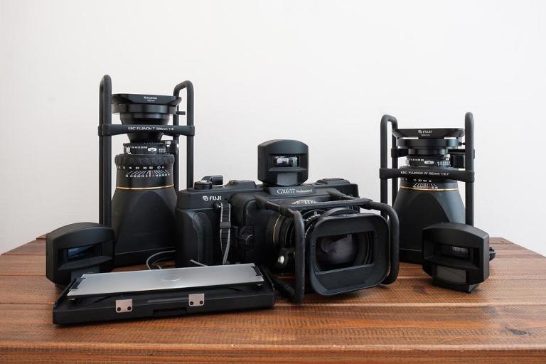Fuji GX617 panoramic camera