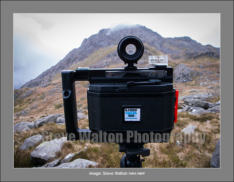 Widepan 6x12cm Roll Film Holder