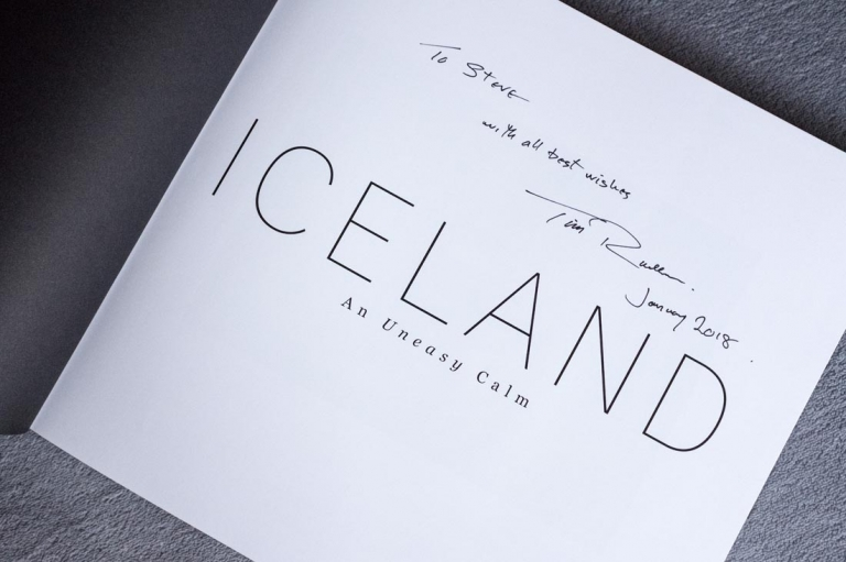 Tim Rudman's book, Iceland An Uneasy Calm