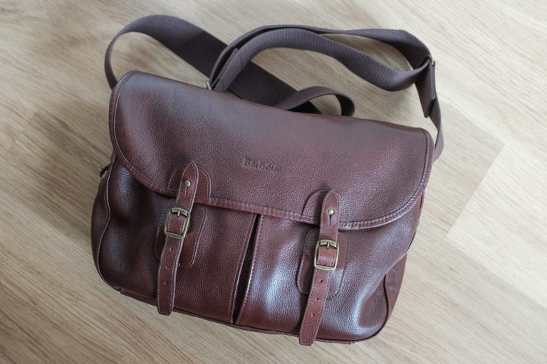 Barbour Tarras leather bag